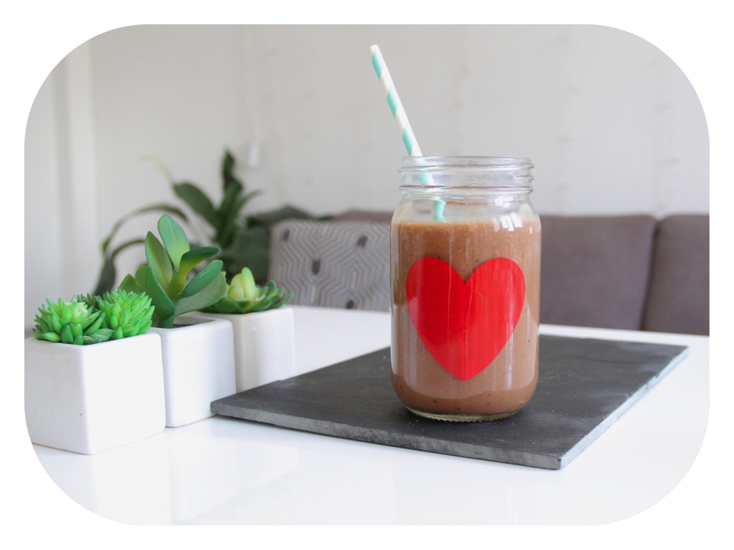 recette smoothie banane chocolat