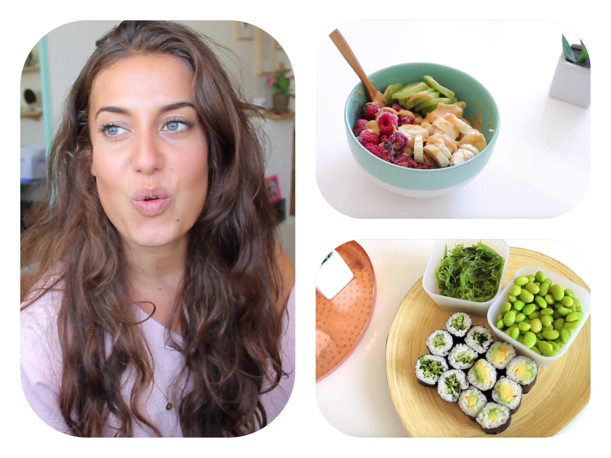 une journée dans mon assiette veggie & healthy