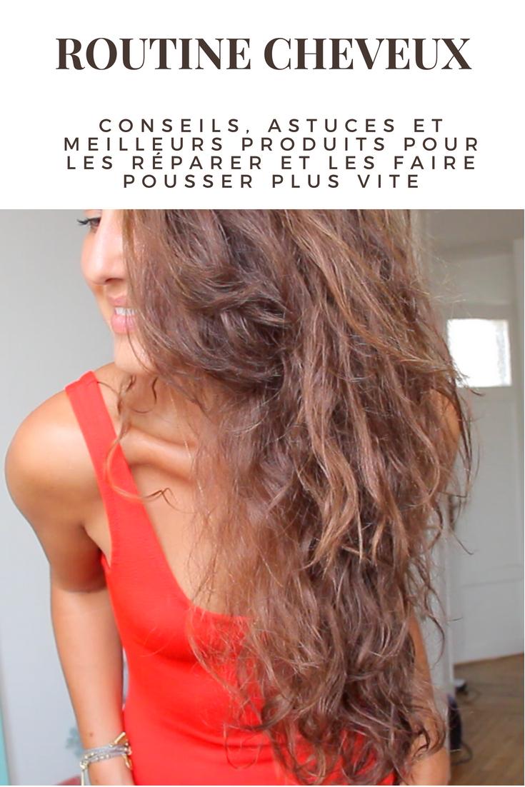 mes conseils, astuces et produits préférés pour prendre soin de mes cheveux et les booster la pousse. Voici ma routine cheveux.