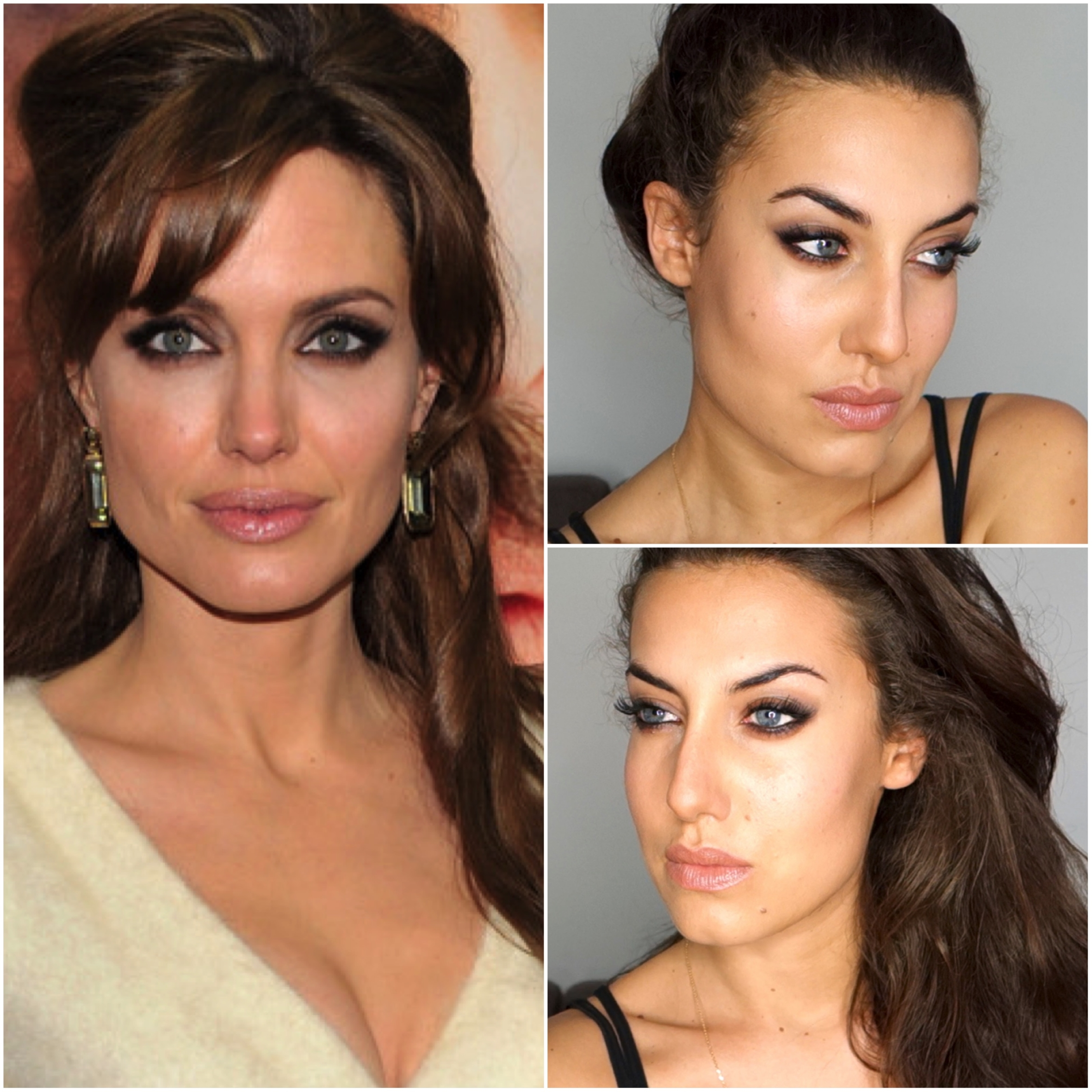 maquillage angelina jolie