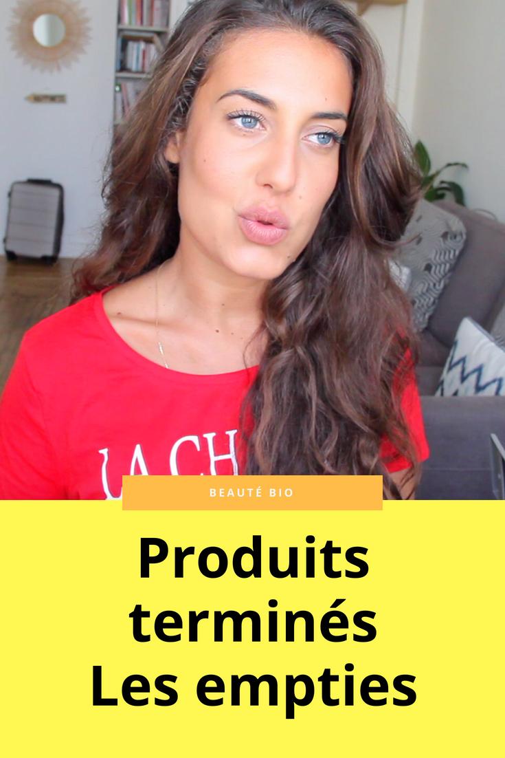 Découvrez les derniers produits utilisés et essayés au cours de ces derniers mois. Qu'est ce que j'en pense avec du recul ? Je rachète ou pas ?