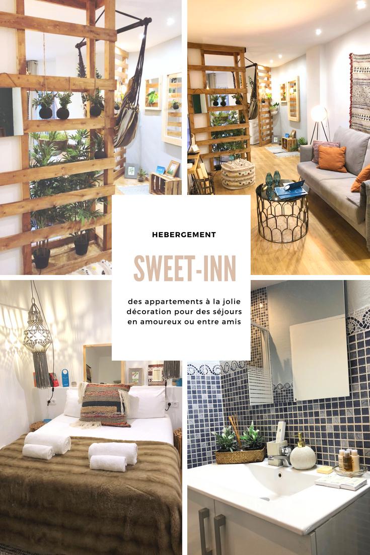 Quand on décide de partir en week-end romantique ou bien en vacances entre amis, la question du logement se pose rapidement. Hotel ? Appartement AirBnB ? Location d'une maison ? Camping ? Aujourd'hui, je vous parle de Sweet-Inn, une solution mêlant appartement et service d'hôtellerie.