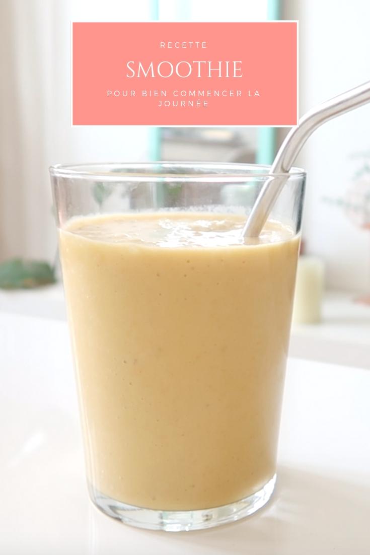 Découvrez ma recette de smoothie healthy pour bien commencer la journée. J'en profite vous montrer comment réaliser un lait végétal maison