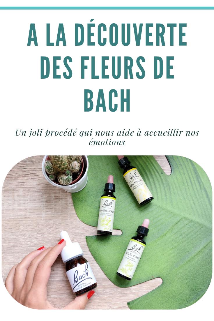 Les Fleurs de Bach : ça vous dit peut-être quelque chose. Depuis le temps que je vous en parle, il était grand temps que je vous publie un article un peu peu plus détaillé sur lesujet ! Aujourd'hui je vous propose de partir à la découverte de ce joli procédé permettant d'accueillir ses émotions.