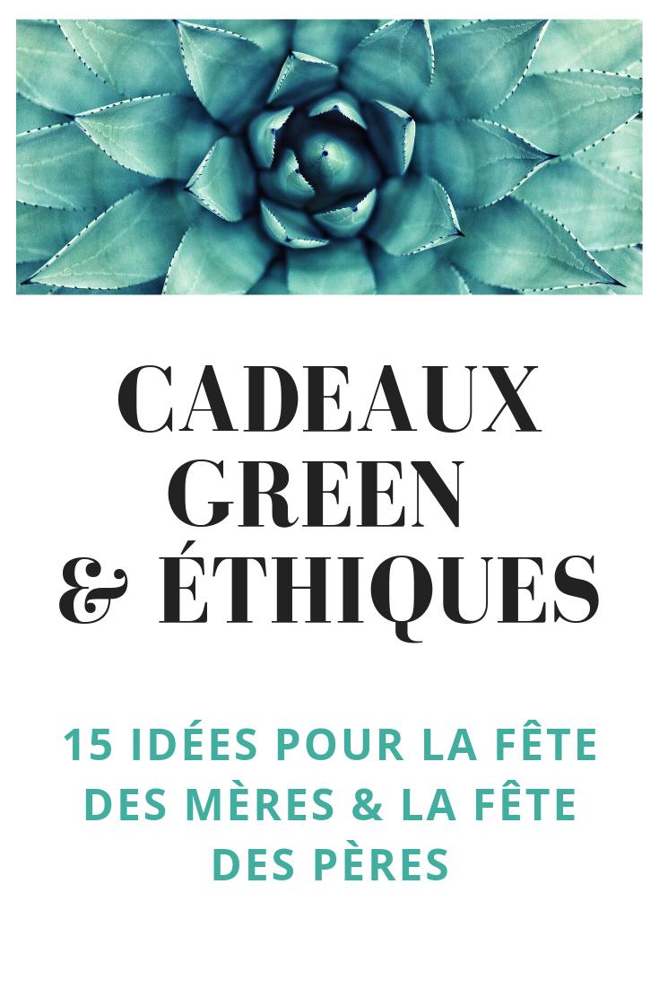 Une sélection de cadeaux green et éthiques pour nos mamans et nos papas ♡