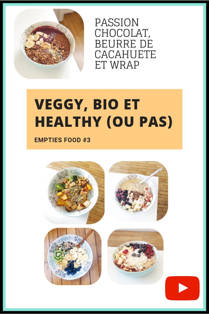 Idées recettes veggy & healthy, découvertes et avis produits. Aujourd'hui je vous présente mes Empties Food ♡