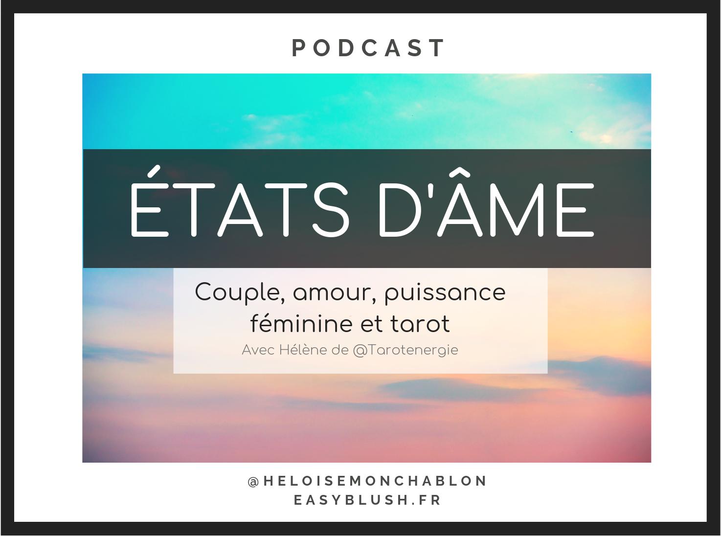 Un épidose podcast qui tourne autour de la puissance féminine, du couple, des relations, de l'amour en général. Le tout sur un fond de tarot de Marseille