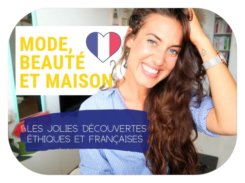 De jolis produits, de jolies petites marques éthiques et françaises. Voici mes dernières découvertes mode, beauté et déco ♡