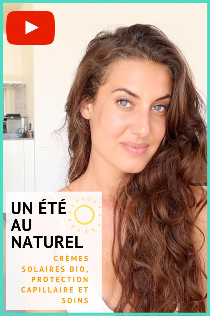 Comment prendre soin de sa peau et de ses cheveux pendant l'été ? Aujourd'hui parlons de protections solaires bio, d'astuces et de produits pour passer un été en beauté ☀️