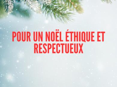 Noël approche et le besoin d'inspiration pour trouver de jolis cadeaux aussi. Voici quelques idées éthiques pour faire plaisir à vos amis et à votre famille.