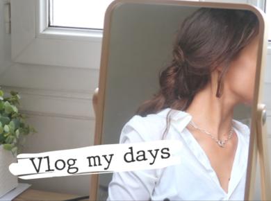 """Du maquillage bio et naturel, les idées recettes, des réflexions, des marques de mode éthique, je vous présente un nouvel épisode """"Vlog my days"""". (Vidéo tournée avant le confinement)"""