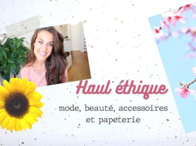 Mode éthique, bijoux, accessoires, beauté au naturel et papeterie : aujourd'hui je vous présente de jolies marques qui valent le coup d'oeil ✨