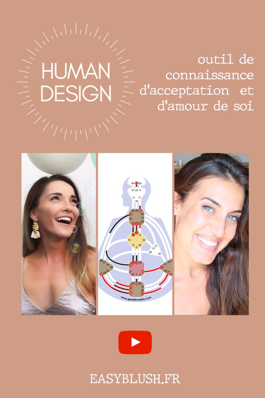 """Le """"Human Design"""", cela ne vous dit peut-être rien. Encore peu connu en France, cet outil permet de se connaitre et surtout de s'accepter tel que l'on est. Et si nous étions déjà parfait ? Et s'il n'y avait rien à changer ?"""