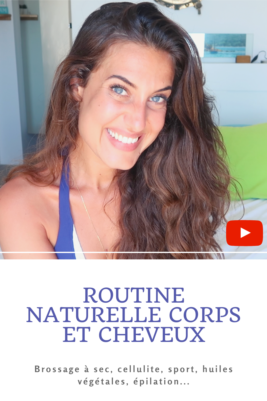 Après vous voir détaillé ma routine visage il y a deux semaines, on passe maintenant à la routine corps & cheveux ! Au programme ? Brossage à sec, anti-cellulite, épilation, huiles végétales et autres produits magiques à intégrer dans une routine naturelle.