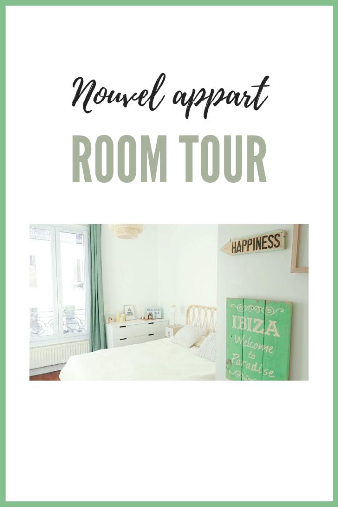 """Allez, on commence la visite de mon nouvel appartement avec la présentation de ma chambre ! C'est parti pour ma première vidéo """"Room Tour"""", l'occasion de vous parler travaux et décoration."""