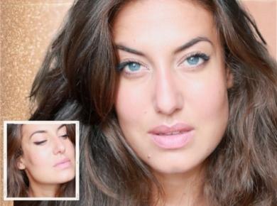 tuto maquillage summer glow et oeil de biche