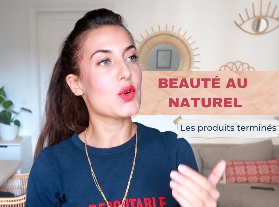 Beauté au naturel, beauté bio, les produits terminés